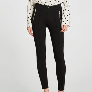 Zara Zipper Leggings